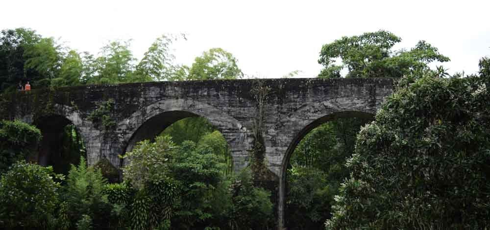 Earthworks Bridge or the National Railroad